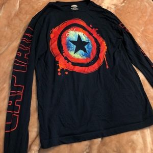 marvel long sleeve shirt